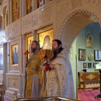 Монастырь. Божественная Литургия. :: Геннадий Александрович
