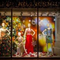 Новогодние витрины завораживают!..) :: Надежда