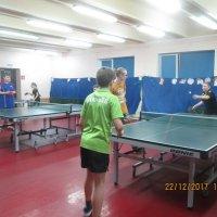 Детский турнир по настольному теннису «Здравствуй Новый год!» :: Центр Юность