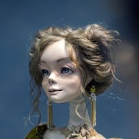На выставке кукол. :: Сергей Ключарёв