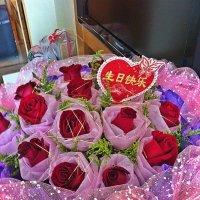 Мой  Новогодний  букет для   моей  жены на  каникулах  в  Шанхае! :: Виталий Селиванов