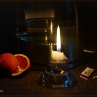 Этюд со свечой. :: Anatol Livtsov