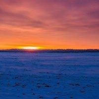Утреннее солнце над горизонтом :: Владимир Волосовский