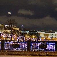 Вид с Дворцового моста, утром в декабре. :: Владимир Гилясев