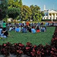 Вашингтон, у Белого дома. :: Ольга Маркова