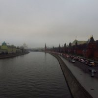 Вечная забота москвичей: будет ли снег к Новому году :: Андрей Лукьянов