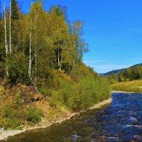 Здесь поворот крутой делается рекой :: Сергей Чиняев