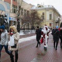"""Надо  торопиться """",Дедушка  Мороз""""! :: Виталий Селиванов"""