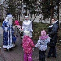 Зимы нет, а Дед Мороз есть. :: Sergey Serebrykov
