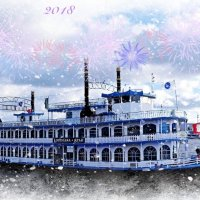 С Новым 2018 годом, дорогие друзья! :: Nina Yudicheva
