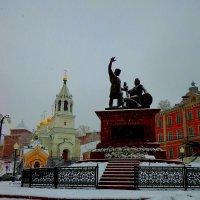 Памятник Минину и Пожарскому :: Наталья Сазонова