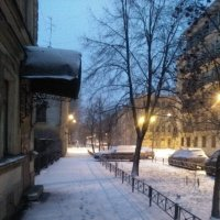 Зимняя, петербургская улочка 1 января 2018 года. :: Светлана Калмыкова