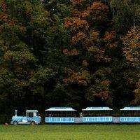 Поезд в осень. :: юрий