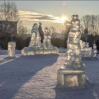 Солнце село на нос волку. :: Сергей l