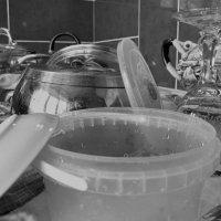 Мытье посуды :: Ирина Хан