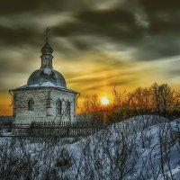 Заканчивался день... садилось солнце... :: Александр Бойко