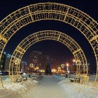 Новый год на улицах Иркутска :: Владимир Гришин