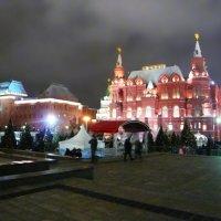 Вечерняя, новогодняя Москва :: Galina Belugina