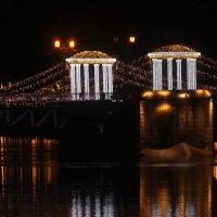 Дворцовый мост в ночи.... :: Tatiana Markova