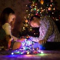 В ожидании Нового года :: Aleksandra Rastene