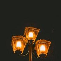 ночь, улица, фонарь :: Ольга (Кошкотень) Медведева