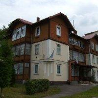 Жилой   дом   в    Трускавце :: Андрей  Васильевич Коляскин