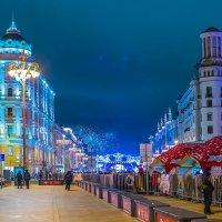 Новогодняя Москва :: Игорь Герман