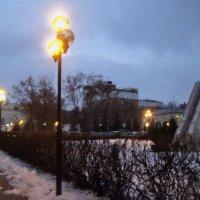 Зимние аллеи в Люберцах. :: Ольга Кривых