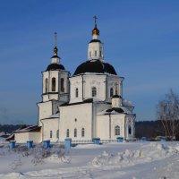 Церковь Спаса Нерукотворного Образа в селе Коларово :: Вера Андреева