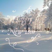 Январь - утро нового года.. :: Андрей Заломленков