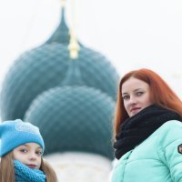 Фото на фоне куполов собора... :: Алексей le6681 Соколов