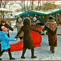 Рождественский хоровод :: Vladimir Semenchukov