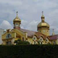 Греко - католический   храм  в   Трускавце :: Андрей  Васильевич Коляскин