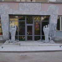 Вход   в   Музей   Небесной   Сотни   Ивано - Франковска :: Андрей  Васильевич Коляскин