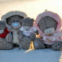 Тедди, Татти Тедди и детишки-мишки :: Наталья Жукова