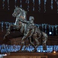 Новогодний Аничков мост. :: Марина Ножко