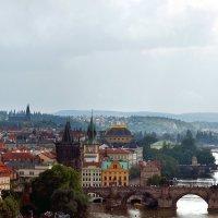 Городской пейзаж. Прага. :: Николай Ярёменко