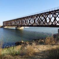 С чего начинался Керченский мост?! - Со старого моста в Геническе!... :: Алекс Аро Аро