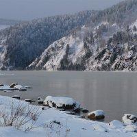 Енисей в январе :: Татьяна Соловьева