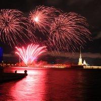 Рождественнский фестиваль огня.. под штормовой ветер :: tipchik