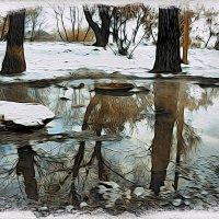 Весною повеяло вдруг в январе... Принюхался - нет не весною..Пошёл вызывать аварийку..:) :: Андрей Заломленков