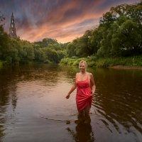 Вечер на реке Нара :: Aleks Lebedev