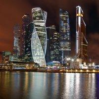 Москва-сити в Рождество :: Надежда Сафронова