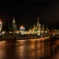 Праздничная Москва :: Леонид Иванчук