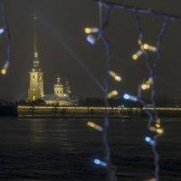 Новогодняя Петропавловка. :: Марина Ножко