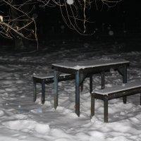 зимний вечер, мягкий снег... :: Марина Белоусова