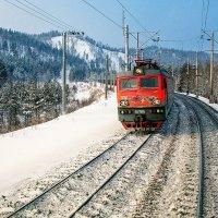 ВЛ85-071 Поезд идущий к победе :: Алексей Белик