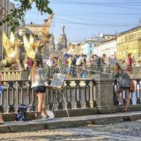 Из жизни петербургских мостов :: bajguz igor
