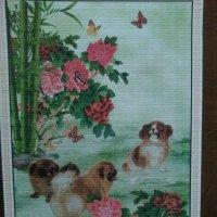 Китайский календарь с изображением собачек. :: Светлана Калмыкова