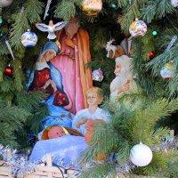 В тихую рождественскую ночь. :: Валентина ツ ღ✿ღ